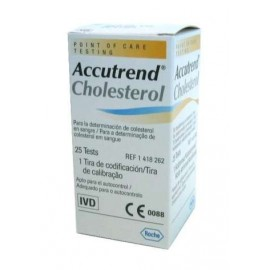 Paski Accutrend Cholesterol (25 szt.) nr kat.13048