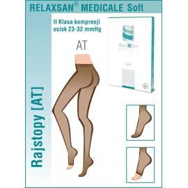 Rajstopy przeciwżylakowe Relaxsan Soft (klasa kompresji II 22 - 32 mmHg, palce zakryte)