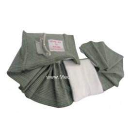 Bandaż ratowniczy izraelski (15x4,5cm) z dwoama podściółkami (w tym jedna ruchoma)