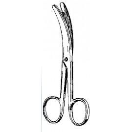 Nożyczki Busch zagięte do odcinania pępowiny 160 mm nr kat.13183