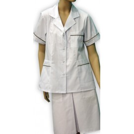 Bluza lekarska damska Kalina (rękaw krótki)