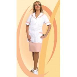 Bluza lekarska damska Korona (rękaw krótki)