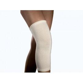 Opaska rozgrzewająca na kolano LCG01-1 Relaxsan (z wełną, beżowa)