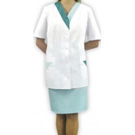 Bluza lekarska damska Gardenia (rękaw krótki lub długi)
