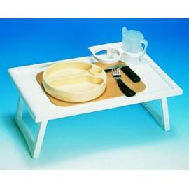 Stolik łóżkowy biały