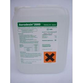 Aerodesin 2000 (pojemność: 5 litrów) - preparat do dezynfekcji powierzchni