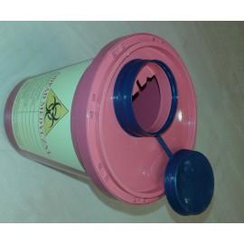 Pojemnik na odpady medyczne (1 l, czerwony) AS5-OB1 nr kat.13309