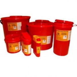 Pojemnik na odpady medyczne (2 l, czerwony) nr kat.13310