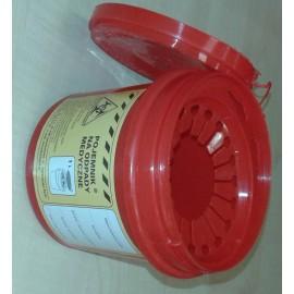 Pojemnik na odpady medyczne (1 l na igły)
