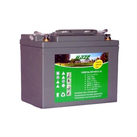 Akumulator żelowy HZYEV12-33 do wózka elektrycznego