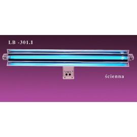 Lampa bakteriobójcza sufitowo-przyścienna 1x30 LB-301.1 z jednym promiennikiem i licznikiem czasu pracy