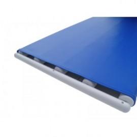 Rolki (przenośnik taśmowo-rolkowy) do przenoszenia pacjenta 1100 x 395 cm PREMIUM niebieskie