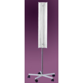 Lampa bakteriobójcza statywowa 2x30 LB-301.2 z dwoma promiennikami i licznikiem czasu pracy