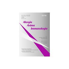 Alergia Astma Immunologia (czerwiec 2010) S1/10. Suplement. Immunoterapia podjęzykowa. Oficjalne stanowisko Światowej Organizacji Alergii (WAO) 2009