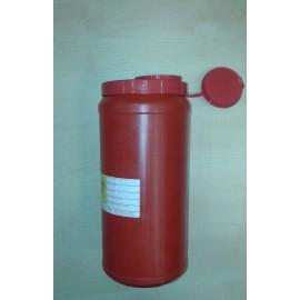 Pojemnik na odpady medyczne (3,5 l) czerwony wysoki