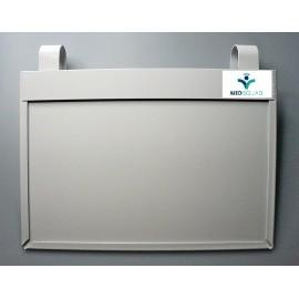 Ramka do kart gorączowych KG-4 z ochroną danych osobowych (plastikowa)