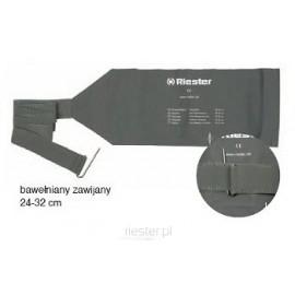 Mankiet do ciśnieniomierza zawijany, dla dorosłych, dwudrenowy RS-102 Riester
