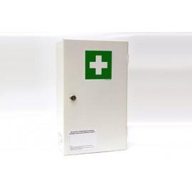 """Apteczka pierwszej pomocy stalowa na ścianę """"40"""" z wyposażeniem PK-1"""