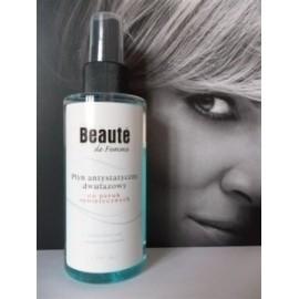 Płyn antystatyczny 2 fazowy do peruk syntetycznych Beauty de Femme 150 ml