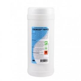 Chusteczki Chemisept Wipes do dezynfekcji rąk i powierzchni (100 szt.)