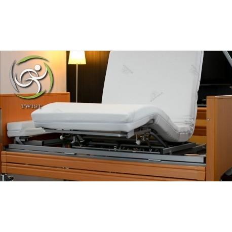 Łóżko rehabilitacyjne TWIST (z funkcją składania i obrotu leża)