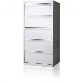 Szafa kartotekowa 5-szufladowa, 2-rzędowa, format B5 KOP/5  WYPOSAŻENIE SZKÓŁ