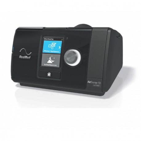 Aparat Auto CPAP Resmed Airsense 10 autoset z maską STANDARD i nawilżaczem