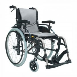 Wózek inwalidzki S Ergo Silver 305, szerokośc siedziska: 41 cm