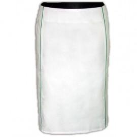 Spódnica lekarska kloszowa (rozmiar 38, długość 55 cm)J