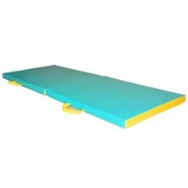 Materac rehabilitacyjny 2-częściowy 170 cm x 65 cm x 5 cm nr kat.13572