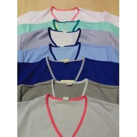 Bluza chirurgiczna Bluszcz NOVA (rękaw króki)