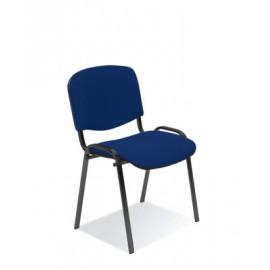 Krzesło ISO tapicerowane, stelaż czarny