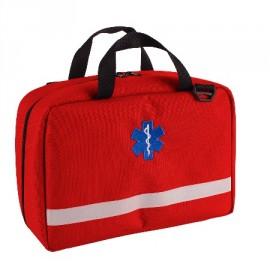 Apteczka pierwszej pomocy przenośna 10l TRM-63 (kolor czerwony)