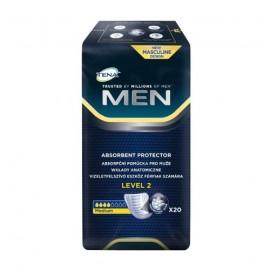 TENA Men Medium - wkłady anatomiczne (level 2)