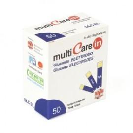 Paski do pomiaru poziomu glukozy we krwi do aparatu MultiCareIn (50 szt.)
