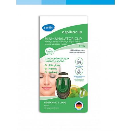 Mini-inhalator CLIP aspUraclip fresh Sanity