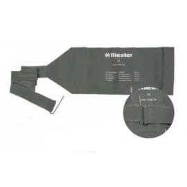 Mankiet do ciśnieniomierza zegarowego 2-drenowy Riester (zawijany)