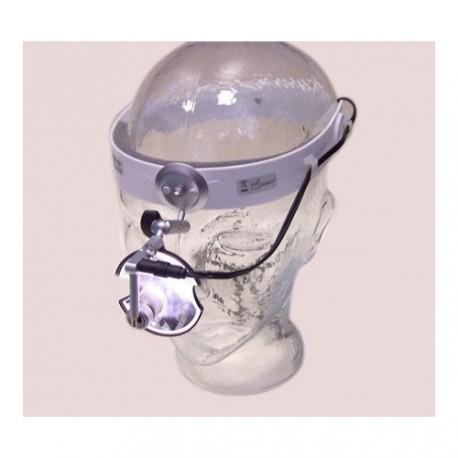 Lampa naczołowa Led Clar S FAROMED (z lusterkiem ziegler'a 55mm) - zasilacz sieciowy