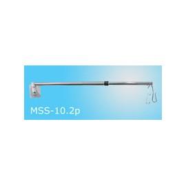 Statyw kroplówki 2-wieszakowy MSS-10.2 przyścienny