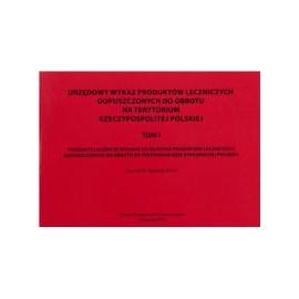 Urzędowy wykaz produktów leczniczych dopuszczonych do obrotu na terenie Rzeczpospolitej Polskiej t.1-3 + suplement 2010