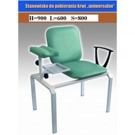 Fotel do pobierania krwi GT/01 nr kat.13528