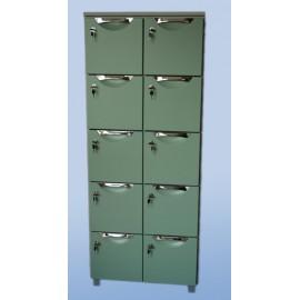 Szafa kartotekowa 10-szufladowa, 2-rzędowa nr kat.13540