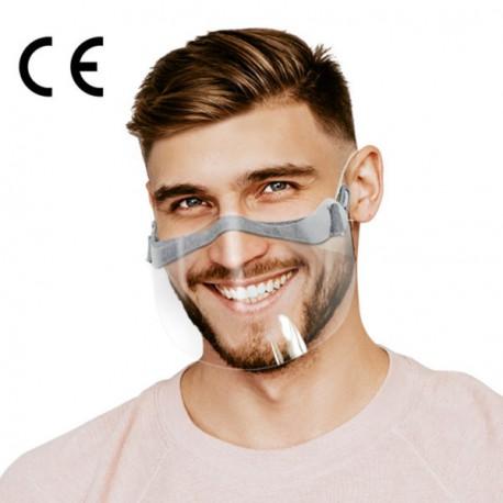 Przyłbica ochronna  Face Shield obszyta (2 szt.)