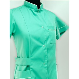 Fartuch lekarski damski Facelia (rękaw krótki)