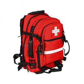 Apteczka pierwszej pomocy typu plecak 40l TRM XXVIII (kolor czerwony)