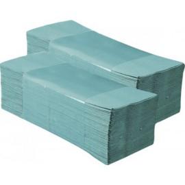 Ręcznik papierowy (200 sztuk, składanka, zielony)