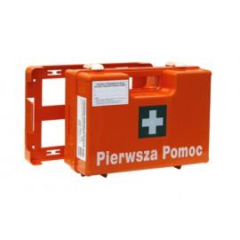 Apteczka pierwszej pomocy przenośna K-10 z wyposażeniem DIN 13164 (możliwość zawieszenia na ścianie)