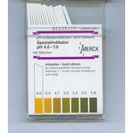 Pask - papierkii wskaźnikowe pH 4,0 - 7,0 Merck