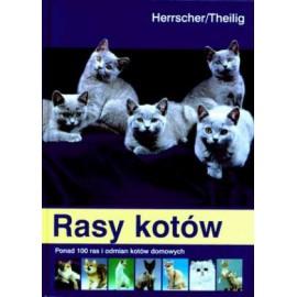 Rasy kotów. Ponad 100 ras i odmian kotów domowych