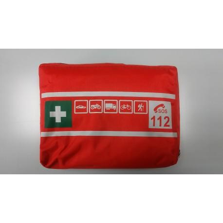 Apteczka pierwszej pomocy przenośna T z wyposażeniem
